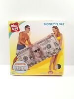 Play Day Inflatable High Roller Money Float-Pool-Lake-Beach-Raft-Bling
