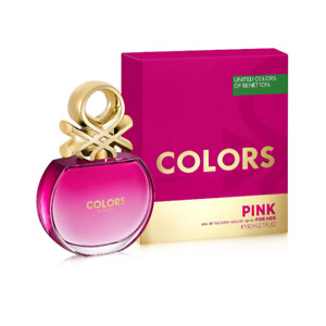 United Colors of Benetton EDT Pink 80ml free shipping