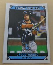 Jacob Younis 2018/19 Australian Baseball League card - Sydney Blue Sox