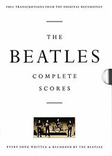The Beatles: Complete Scores (Transcribed Score) New Hardcover Book The Beatles