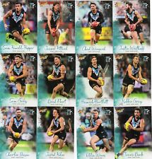 2018 AFL SELECT  FOOTY STARS PORT ADELAIDE POWER  FULL SET OF COMMONS 12 CARDS