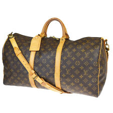 AUTH LOUIS VUITTON KEEPALL 50 BANDOULIERE 2WAY HAND BAG MONOGRAM M41416 88BP378