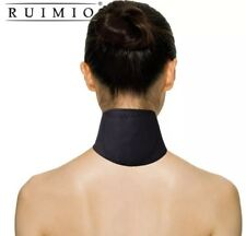Wärmende Nackenbandage mit Turmalin Magneten Halswärmer Nackenstütze