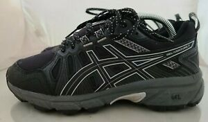 Womens Asics Gel-Venture 7 All-Terrain Running Shoes Size: 7 Wide Color: Black