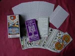 Tarot De Marseille Camoin/Jodorowsky Boxed with Instructions 1992 FN/VFN