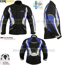 BLUE SPEED MAX MENS HEAVY DUTY WINTER CE MOTORBIKE / MOTORCYCLE TEXTILE JACKET