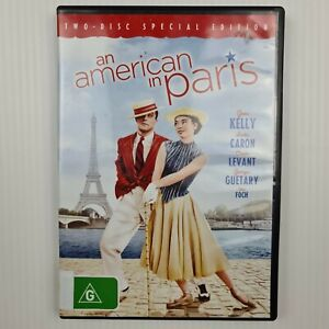 An American In Paris DVD - Gene Kelly/Leslie Caron - 2 Disc Set -TRACKED POST
