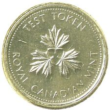 Canada 25 Cents Test Token (1983) Raised I Magnetic Not Listed #6364