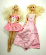 Vtg 1966 Barbie Doll Made In China Blonde Lot Of 2