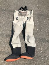 Simms G3 Waders ~ Greystone ~ Size L 9-11 ~ USED #21