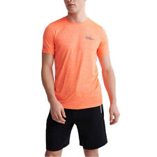 Superdry Herren Training Tee Sport Shirt T-Shirt MS300071A orange