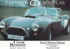GARDNER DOUGLAS COBRA 427 V8 3.9 4.2 5.0 5.7 Sheet Prospekt Brochure 18