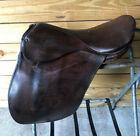 Rare Vintage Brown 18.5 Bona Allen English Saddle Both Gaited & Non Gaited Horse