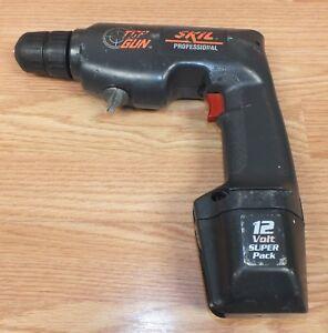 """Genuine Skil (2736) Reversing 12V 3/8"""" (10mm) Corless Drill / Driver **READ**"""