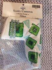 SCOTTY CAMERON HEADCOVER 2011 TCC PUTTER COVER THE CAMERON COLLECTOR GOLF NEW