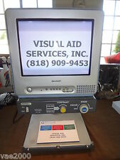 "Low Vision-Electronic Visual Aid 14"" CRT  Assist Vision AV-100 from Japan"