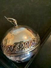 2005 WALLACE SILVER PLATE SLEIGH BELL