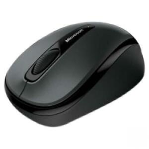 Microsoft 3500 Mouse Lochness Gray - Wireless - Radio Frequency - 2.40 GHz - 100