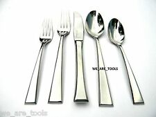 Yamazaki New In Box Epoch 5 Piece Place Set Stainless Fork,Spoon,Knife,Fast