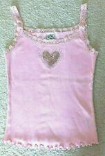 Gk Elite Gymnast Rhinestone Sequin Lace Emb Cami Top, Pink Size S, Nwot Msrp $29