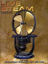 Live Steam V38 N 2 March/April 2004 Paul Jacobs' Brockway/Phillips Hot Air Fan