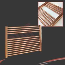 900mm(w) x 600mm(h) Designer Straight Copper Heated Towel Rail (1744 BTUs)
