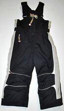 Obermeyer I-Grow Boys Sz 4 Winter Snow Jabber Overall Bib Pants Black Insulated
