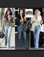 Chip & Pepper Womens Jeans Sz 25 Stella Bootcut Dark Wash Denim Stretch Low Rise