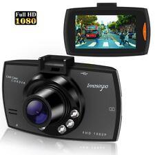 "1080p HD Dash Cam Wide Angle Night Vision Car DVR 2.7"" LCD Camera UK G Sensor"