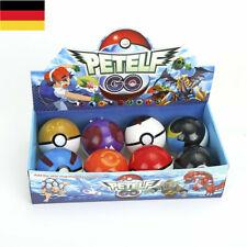 8PC/Set Pokemon Pokeball Kunststoff Ball Monster Pikachu Cartoon Kind Geschenk
