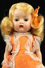 Nancy Ann Storybook Muffie Doll Side Part Golden Blonde Hair Eye Brow Sl Walker
