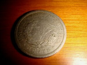 USA 1908 Liberty Head, Five Cents Nickel Coin, Decent Circulated