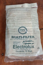 12 Vintage Electrolux Vacuum Cleaner Bags NOS Self Sealing 4 ply New USA