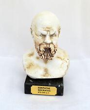 Ancient Greek philosopher Socrates  sculpture statue bust 470-399B.C.