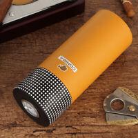 Cohiba Travel Cigar Tubes Humidor Cigars Case Cedar Wood Humidifier Box Gift