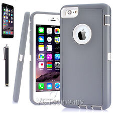 Hard Back ShockProof Slim Hybrid Phone Case Cover iPhone SE 5s 6 Plus Protector