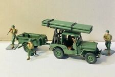 Jeep Rocket Launcher kit conversion 3d printed model kit 1/35, 1/48