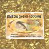Il Vitamina Omega 3+6+9 Olio di Semi Lino 1000mg 365 Capsule Gratis UK Spese