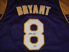 KOBE BRYANT PSA/DNA CERTIFIED SIGNED LOS ANGELES LAKERS JERSEY AUTOGRAPHED MINT.