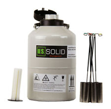 Ussolid Liquid Nitrogen Tank 6 L Container Dewar Ln2 Cryogenic 6 Canisters