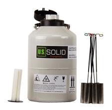 6 L Liquid Nitrogen Tank Container Dewar LN2 Cryogenic 6 Canisters U.S.Solid