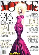 VOGUE * LADY GAGA! SEPTEMBER 2012 Huge Fall Fashion * NEW IN  SEALED PKG