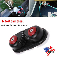 1×US Stock Durable Fast Entry Boat Cam Cleat for Sailing Sailboat Kayak Dia.15mm