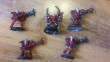 Warhammer 40k Eldar Aeldari Craftworlds Warp Spiders x5 Metal OOP