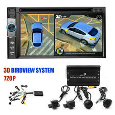 Newest Hd 3D 360 Surround View Driving System Bird View Panorama 4Ch Cam Car Dvr (Fits: More than one vehicle)