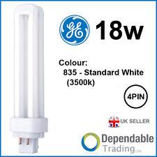 GE 18w Biax D/E Energy Saving 4-PIN Standard White G24q-2 F18DBX/SPX35/835/4P DE