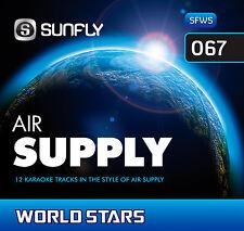 AIR SUPPLY SUNFLY KARAOKE CD+G 12 HITS - WORLD STARS