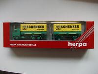 """Herpa : MB Cambio Phz """"Schenker Múnich"""" Nr.187701 (SSK26)"""