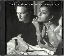 BIG DISH Miss America RARE 1 TRK USA PROMO RADIO DJ CD Single w/ PRINTED LYRICS
