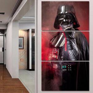 STAR WARS 3 PANEL CANVAS WALL ART  BRAND NEW
